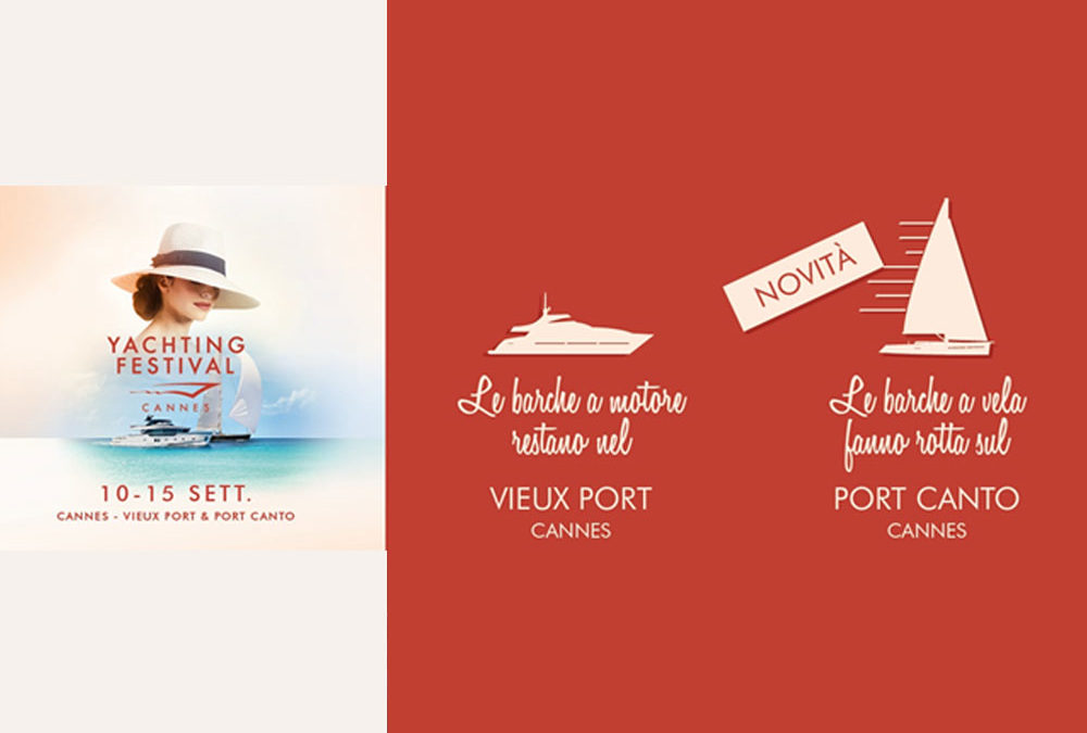 Il Cannes Yachting Festival si fa in due