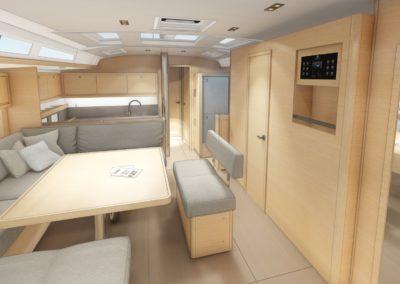 Dufour-530_Interior-Charter-1